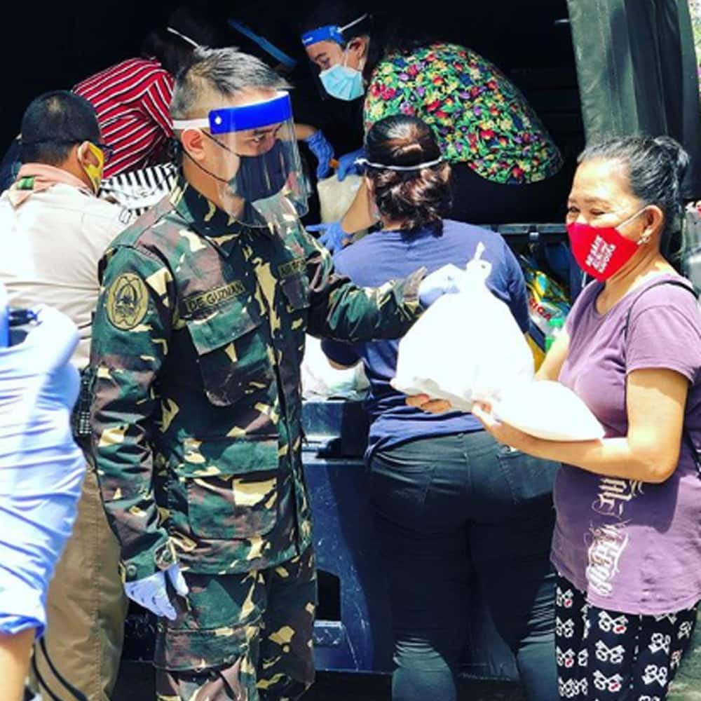 Reporting for duty! JM de Guzman serves and helps Pinoys as Air Force Reservist