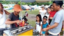 Simpleng sorbetero, nagbigay ng free ice cream sa mga batang biktima ng lindol
