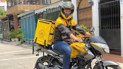"""Robin Padilla on working as a delivery rider: """"Itaas mo ang noo mo"""""""