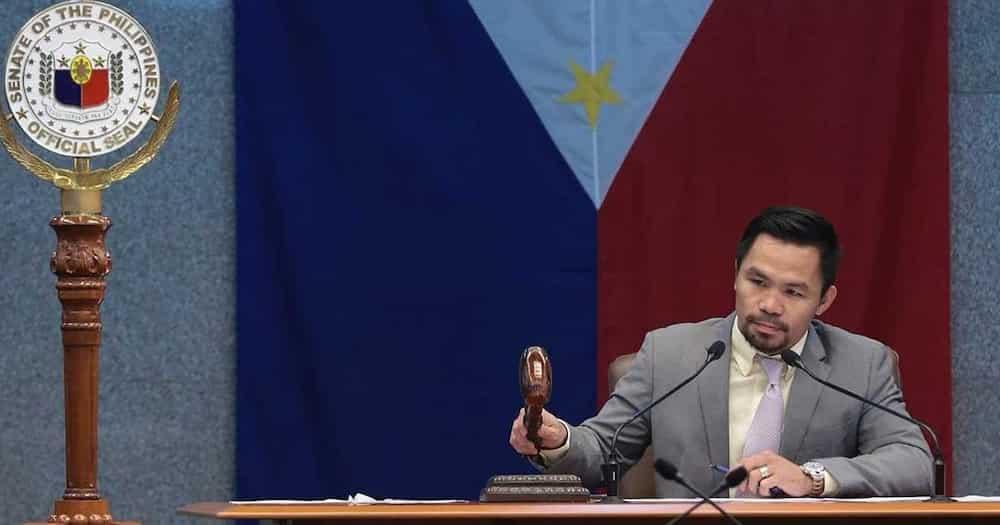 "Sen. Manny Pacquiao, rumesbak matapos banatan ni Pres. Duterte: ""I disagree with the President's assessment"""