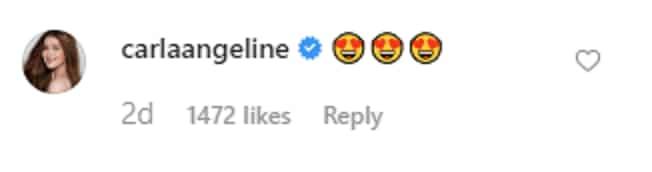 Kapuso actress Carla Abellana reacts to Kathryn Bernardo's viral post
