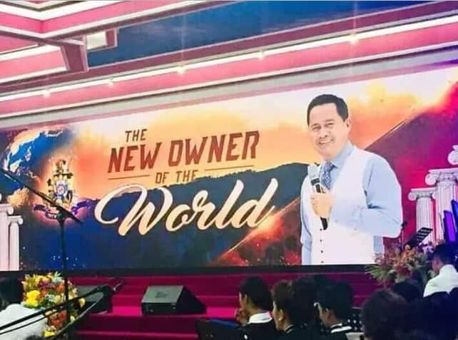 Apollo Quiboloy, lambasted by netizens for allegedly claiming to be the reason for Catriona Gray's win