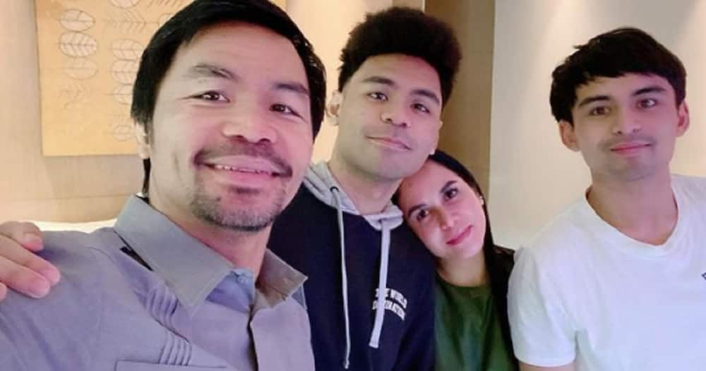 Manny Pacquiao woken up at 12mn for surprise b-day greeting from loved ones