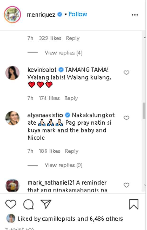 Celebrities, nag-react sa post ni RR Enriquez ukol sa pagtrato ni Lolit Solis kay Mark Herras