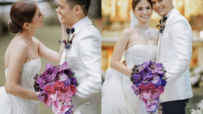 Official wedding photos of JC de Vera and Rikkah Cruz go viral