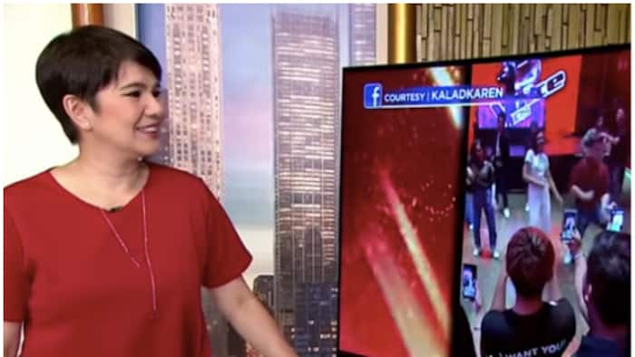Amy Perez hilariously reacted to Sarah G's The Voice Kids after-party performance