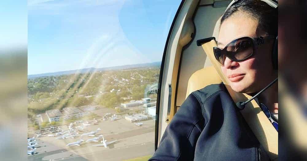 Sharon Cuneta, niresbakan ang basher na inakusahan syang nag-helicopter pa para makapag-shopping lang sa NY