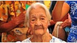 """Naitalang """"oldest living Filipino"""", may anak na lumampas na rin ang edad sa 100"""