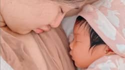 Jennylyn Mercado pays visit to Sheena Halili's daughter; their photo goes viral