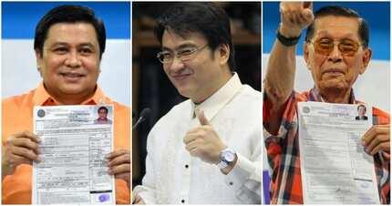 Tatlong mambabatas sangkot sa 'pork barrel scam' nais muling bumalik sa Senado