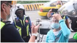 Mag-inang patungong DSWD, nahuli sa EDSA ngunit nabigyan pa ng biyaya