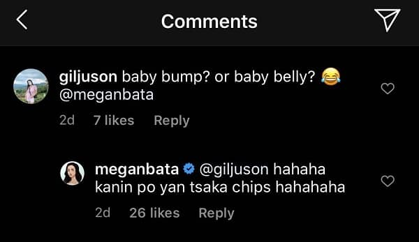 Megan Young laughs off 'baby bump' comment of netizen on her new pic