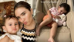 Sofia Andres shares sweet gesture of baby Zoe while waiting for her in viral post