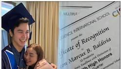 Marjorie Barretto, binahagi ang video ng graduation ng anak na si Leon
