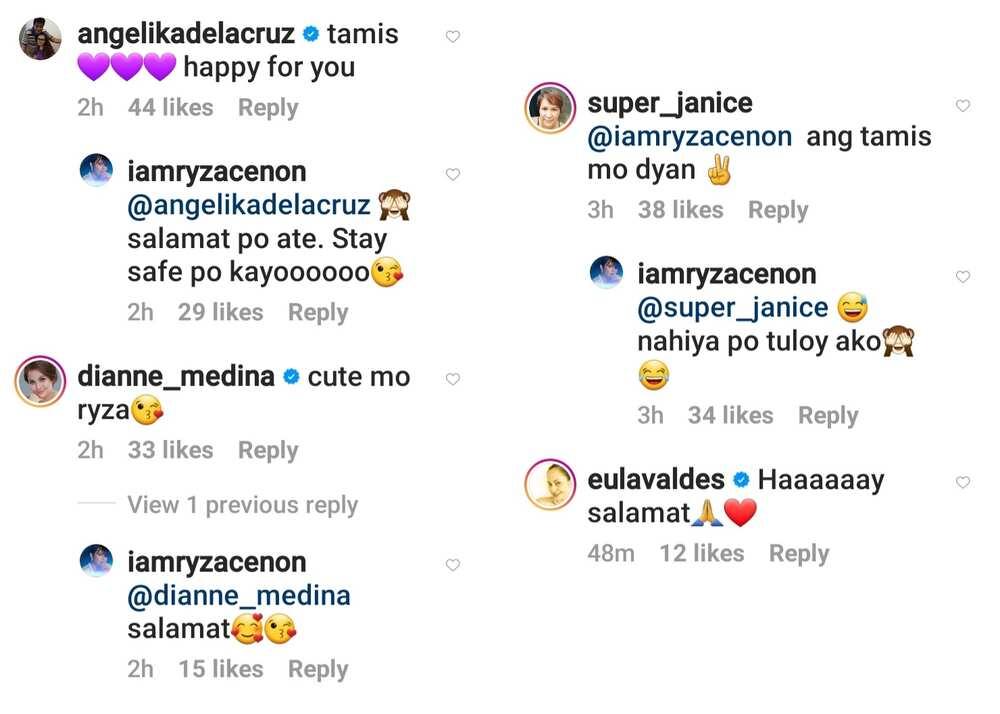 Ryza Cenon flexes boyfriend on social media; celebrities react