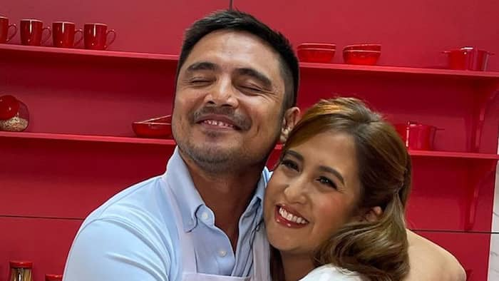 Marvin Agustin, Jolina Magdangal reunite and cook together