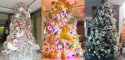 Pabonggahan sa Kapaskuhan! Celebrity Christmas trees stun netizens with glamorous themes