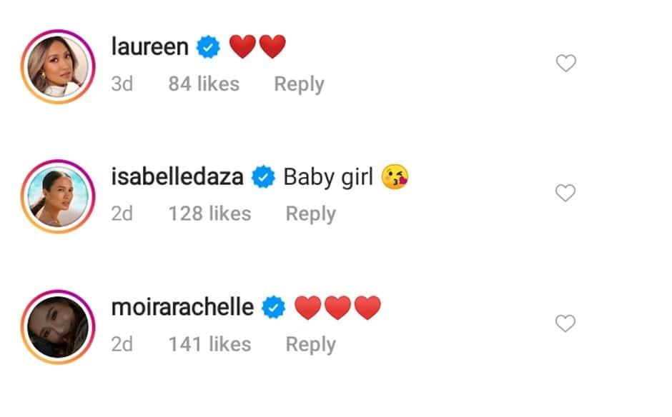 Anne Curtis' newly-uploaded photo with baby Dahlia catches celebrities' attention