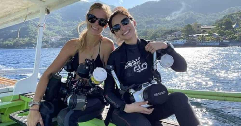 Pinulikat! Jennylyn Mercado experiences underwater scare while scuba diving in Batangas