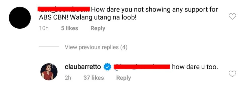 Claudine Barretto accused of not siding with ABS-CBN; actress fearlessly responds