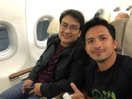 Dennis Trillo bravely answers who bashed him for posing with Bong Revilla