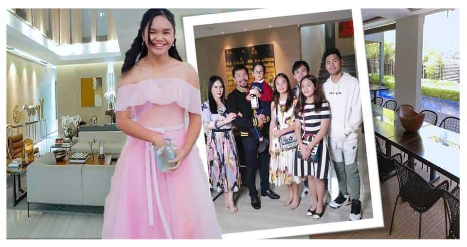 Princess Pacquiao nina Jinkee at Manny Pacquiao, may pa-house tour sa kanilang mansyon
