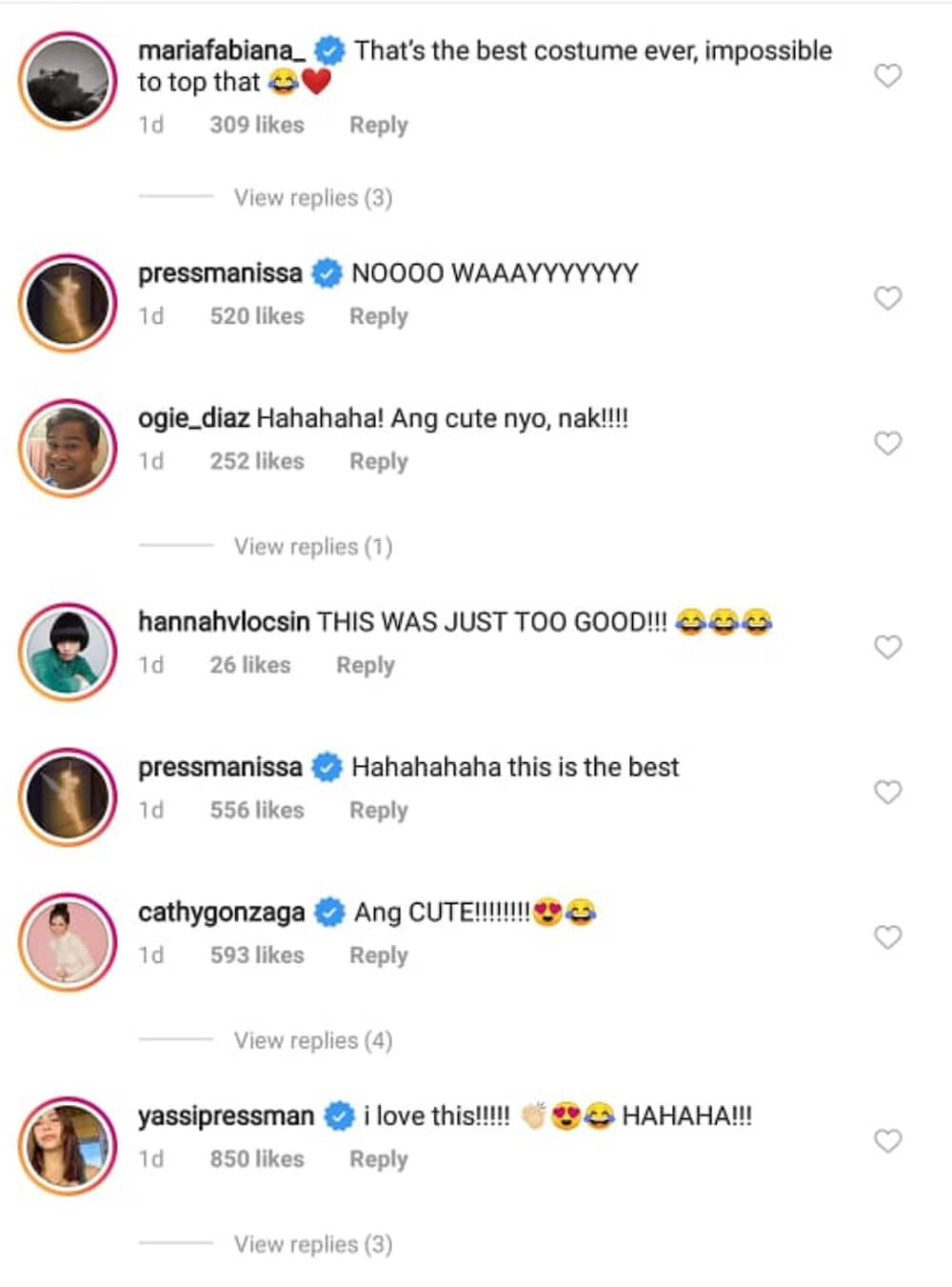 Anne Curtis, other celebs gush over Liza Soberano and Enrique Gil's 'White Chicks' look
