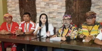 Netizens, nagreact sa pagpunta ni Mocha Uson sa isang unibersidad para suportahan ang mga Lumad