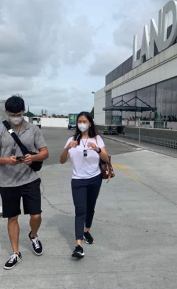 Sarah Geronimo and Matteo Guidicelli spotted doing grocery shopping together in Alabang