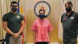 Gab Valenciano meets with his uncle Kiko and VP Leni to support their alliance