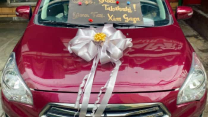 Xian Gaza is on the move again; gives car gift to TikTok star