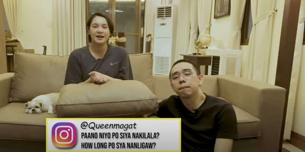 Rare moment Ryza Cenon answers questions together with boyfriend
