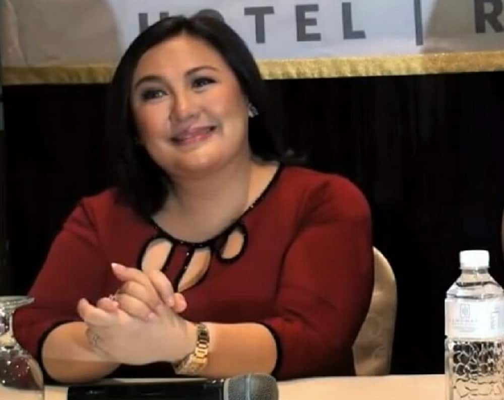 Sharon Cuneta reacts to Harry Roque saying government's COVID-19 response is 'working'