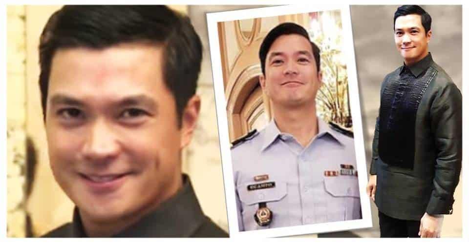 Gwapo na, astig pa! Diether Ocampo, aktibo bilang PCGA Lieutenant Commander