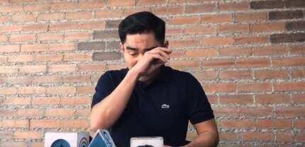 Nicko Falcis' brother faces media & accuses Kris Aquino of sending death threat
