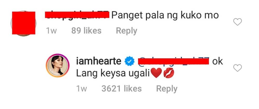Heart Evangelista responds to 'Pangit pala ng kuko mo' comment of netizen