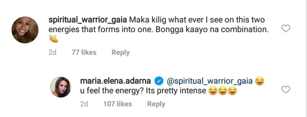 "Ellen Adarna describes energy with Derek Ramsay as ""intense"""