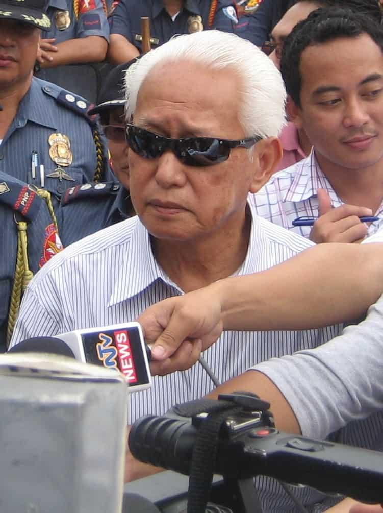 Dating Manila Mayor Alfredo Lim, sumakabilang buhay na