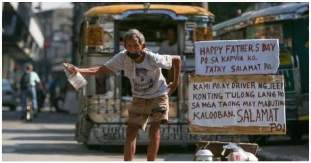"""Nag-viral na jeepney driver na namamalimos, """"nagkakalog"""" pa rin makalipas ang 1 taon"""