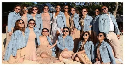 """Iza's bridal cartel!"" Meet the coolest and most stylish bridesmaids of Iza Calzado"