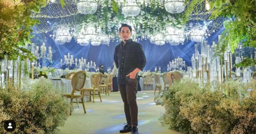 Event stylist Gideon Hermosa, ipinakita ang video ng bonggang reception sa wedding ni Cong. Claudine Bautista