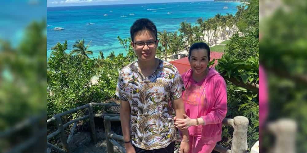 Kris Aquino tags genes and one beverage as reason behind Bimby's 6-foot height