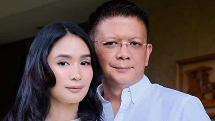 Heart Evangelista, ibinahagi ang isinulat ni Chiz Escudero sa kanyang braso noong sila'y mag-nobyo pa