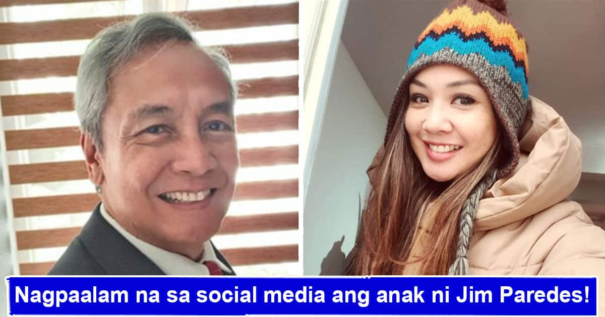 Jim Paredes' Daughter Erica Takes A Break From Social