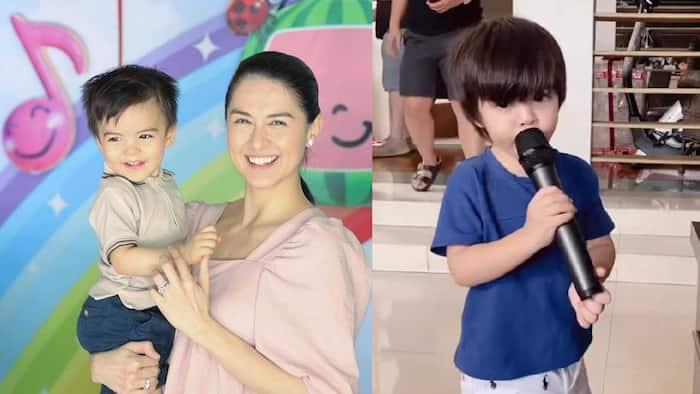 Video ni baby Ziggy na kumakanta ng 'Ako Ay May Lobo' at 'Bahay Kubo', kinaaliwan