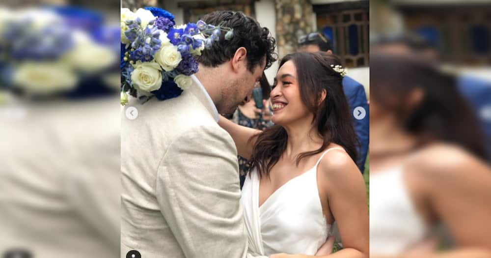 Ina Feleo ties the knot with her Italian fiance Giacomo Gervasutti