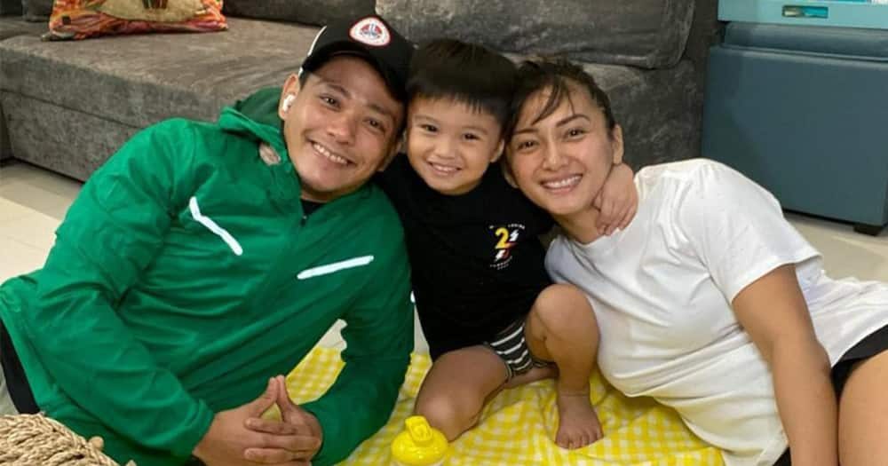 Iya Villania and Drew Arellano take their children on an out-of-town trip in Batangas