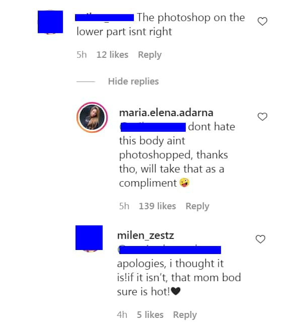 """Ellen Adarna's takes """"photoshopped"""" comment on her daring photo as compliment"""