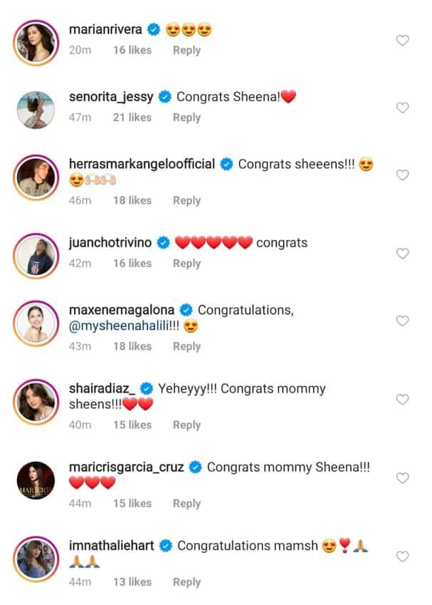 Sheena Halili finally gives birth to a healthy baby girl