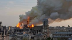 Pinoy shares what he witnessed as iconic 850-year-old Notre Dame church battled with fire